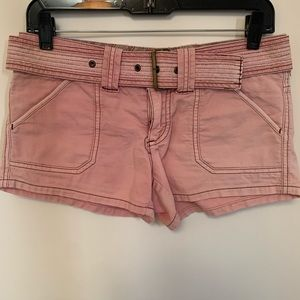 American Eagle Pink Cargo Shorts